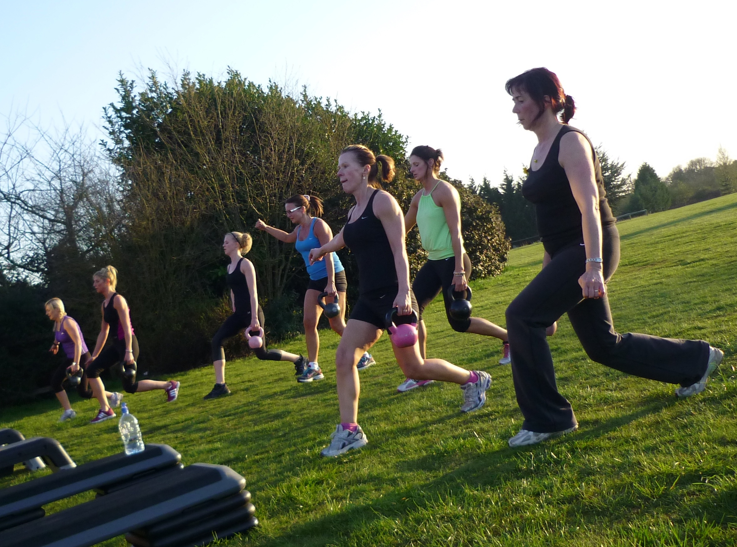 Outdoor small group training