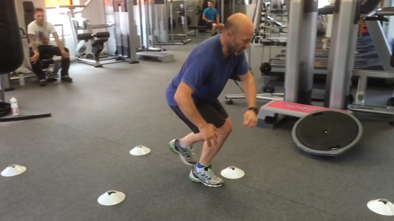 Dynamic exercises for knee rehabilitation